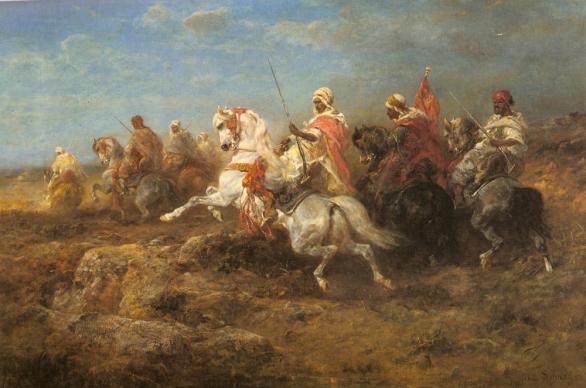 cavallo-arabo-dipinto